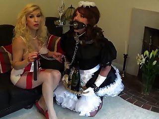 Madame cs estrita sissy maid regime de treinamento