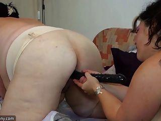 Oldnanny senhoras gordas velhas masturbating com brinquedos