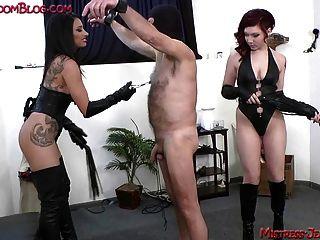 Feminino, tortura, brinquedo, macho, submisso