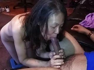 Esposa chinesa medindo