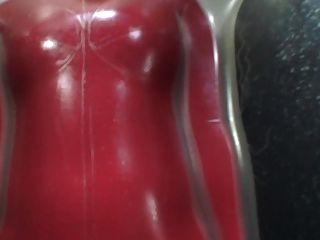 Japão latex catsuit 96