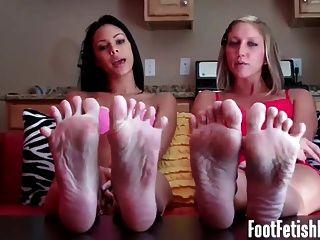 Adorar meus pés sexy como um bom menino