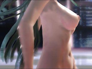 Mmd verde cabelo cutie nice tetas peludas pussy doce golo gv00124