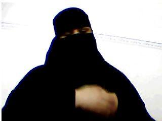 Niqab árabe