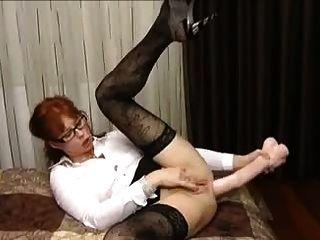 Milf dildo enorme anal termina com prolapso enorme