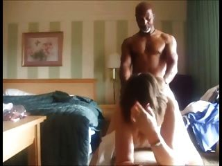 Husband sharing his young wife -