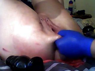 Sexysasha fist anal pussy brinquedos