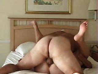 Casal chubby em uma boa foda limpa, muito horny