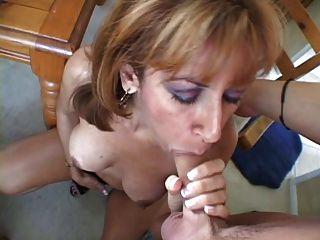 Maduro creampie peludo pussy