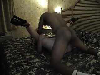 Suco de homem negro dentro de sua esposa pussy