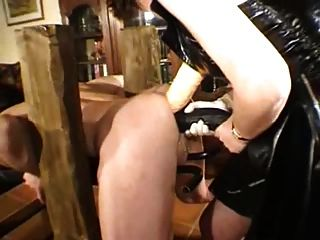 Brutal femdom fisting anal