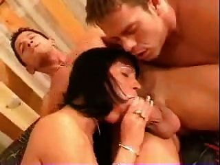 Bisexual mmf trio