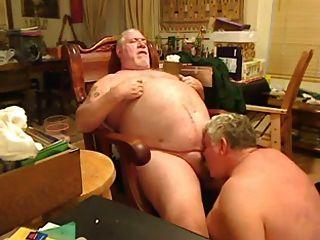 Gordo, papai, sendo, sugado, gorda, paizinho