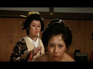 Harém japonês: ass orgasmo feathering concubina putas