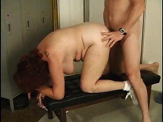 Granny fodido no ginásio