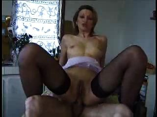 Francês maduro profundo anal e facial