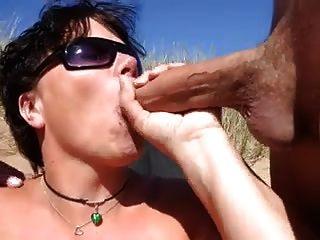Nude praia dupla boquete com dois tratamentos faciais cim