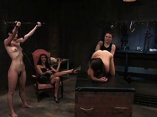 Bdsm, eletro, senhora, punição, punho