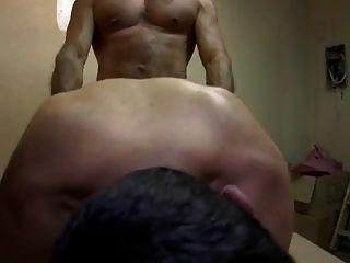 Papai e seu enorme galo