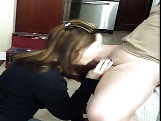 Boquete com cum na boca e deglutição