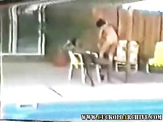Cuckold arquivo vingage vídeo de minha esposa com 2 touros pretos