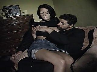 Sexo intercrural do vintage (highcut panty)