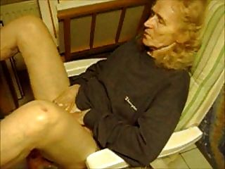 Velha avó 75 anos masturbate
