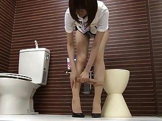 Pantyhose japonês meninas
