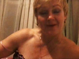 Hot 45 yo russo madura larisa jogar no skype
