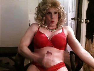 Sutiã vermelho e calcinha