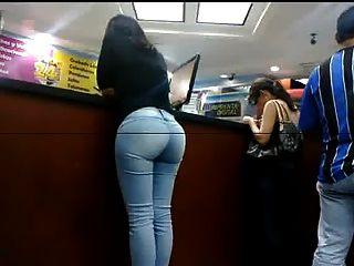 Culo sexy em jeans