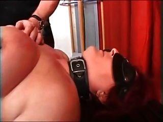 Meu piercing sexy escravo maduro pesado piercing mamilos bichano