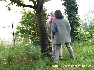 Ruas reais do sexo alemão