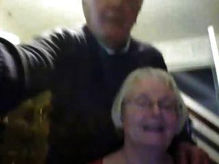 Casal mais velho na webcam