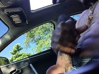 Str8 daddy stroke no carro
