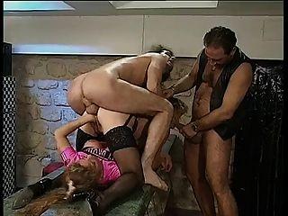 Colette sigma \u0026 raffaela anderson hard 4some