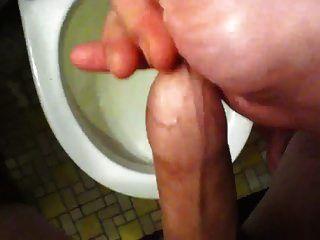 cumming dentro do prepúcio novamente (antes do banho)