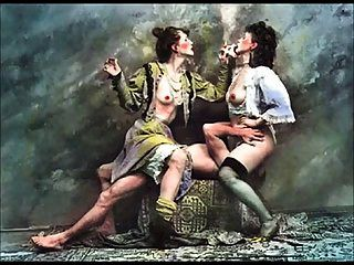 Arte erótica nua de jan saudek 2