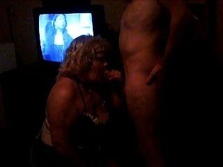 minha esposa salva sucking galo em um quarto de motel