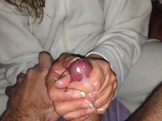 massagem esposa e cum