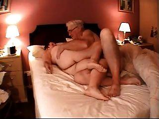 60+ casal na cama