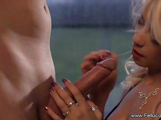 experiência erótica de blowjob cfnm