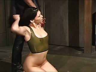 Escravo em látex transparente