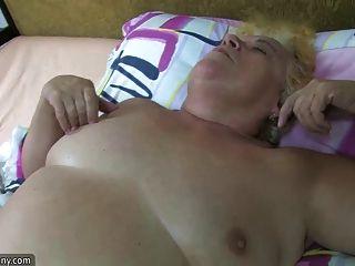 gorda bbw granny ter relações sexuais com gorduroso amadurecido e cinta com força