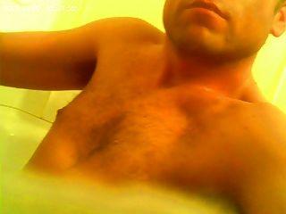 eu e minha bomba de galo no banho