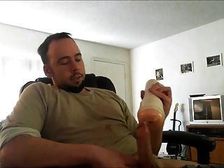 str8 homens assistindo pornografia e idiota com fleshlight ll