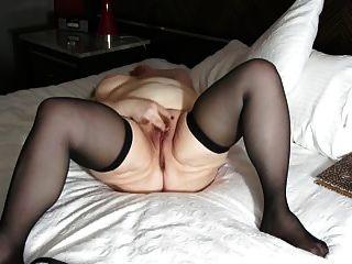 velha gorda brincadeira com sua buceta até o orgasmo