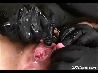 adolescente asiático amarrado e feito para o orgasmo