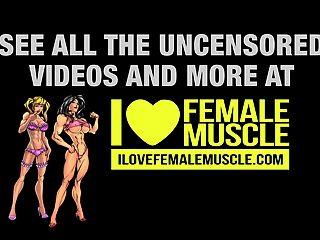 enorme bodybuilder fêmea brigita brezovac músculo feminino quente