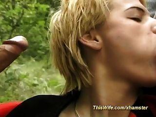 esposa disposta no trio da floresta